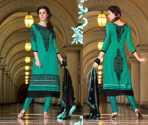 Gorgeous-green-Aline=Straight-Karachi-georgette-salwar-suit-rtro2016