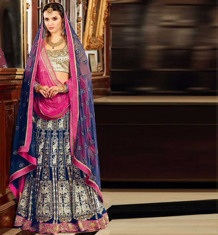 SHOP ONLINE DESIGNER BRIDAL WEAR LEHENGA CHOLI BY STYLISH BAZAAR