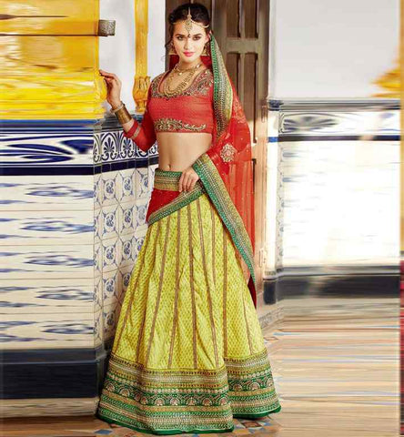 ghagra choli wedding dress
