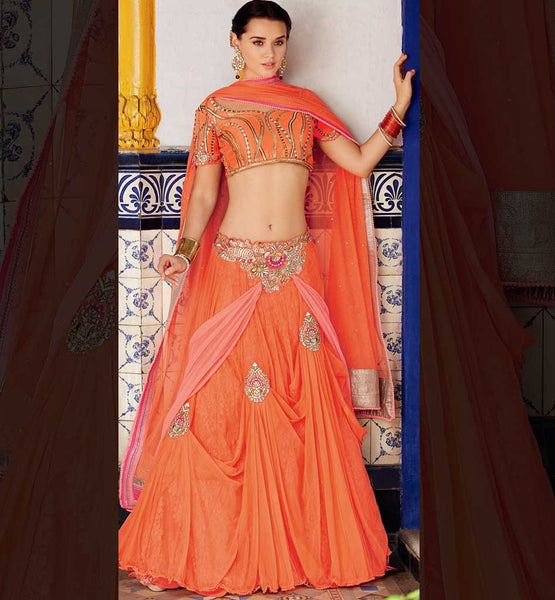 Wedding wera ghagra / lehenga choli online shopping India.