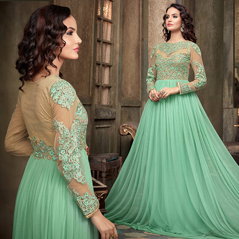 LOVELY ANARKALI DESIGN NO MSH2203