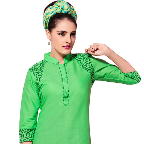 KURTI DESIGNS STYLISH COTTON TOPS FOR GIRLS FASHION AND STYLE