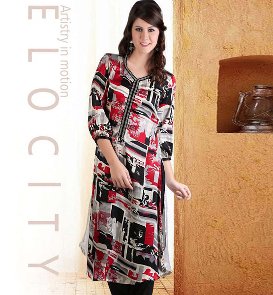 LONG KURTI BY STYLISHBAZAAR.