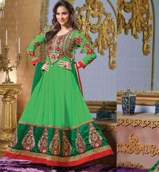 Bollywood Celebrity Lara Dutta Anarkali Dresses & Clothing