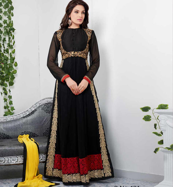 Tvisha Black Party Wear Dress Rate Rs. 2940.00