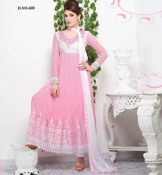 Tvisha Light Pink Party wear Anarkali salwar suit rate rs. 2280.00