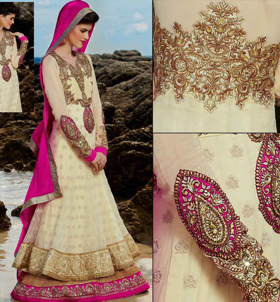 Exciting-cream-wedding-anarkali-kmv6604