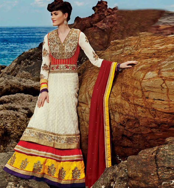 Beautiful wedding wear anarkali