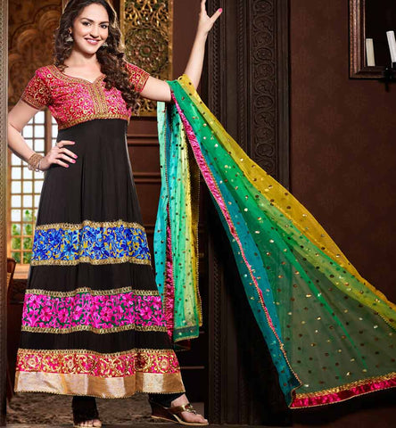 EshaDeol #Black Anarkali