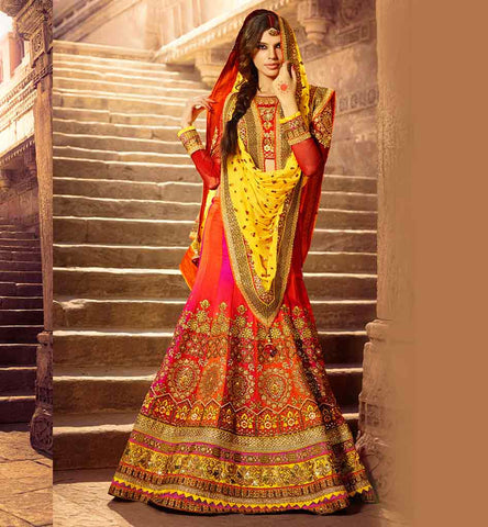 BEAUTIFUL INDIAN WEDDING DRESS SHOPPING BRIDAL LEHENGA CHOLI ONLINE