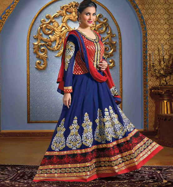 Lara Dutta Designer Anarkali Dress collection