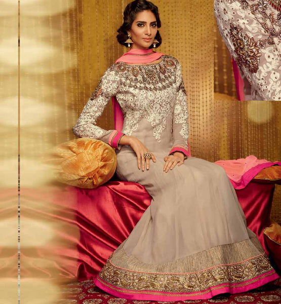 Splendid Full Length Anarkali Dress