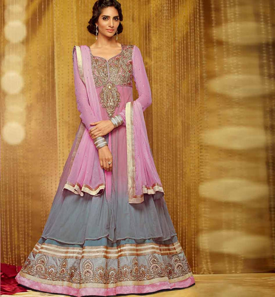 Glamorous Full Length Anarkali Dress