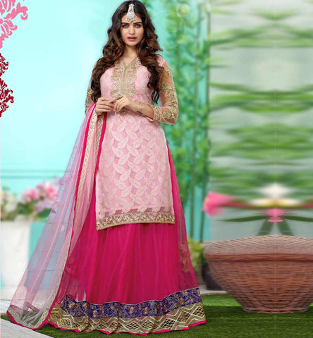 Designer Indian Lehenga Choli at Rs. 2525.00 only from Stylish Bazaar - Click image to buy.