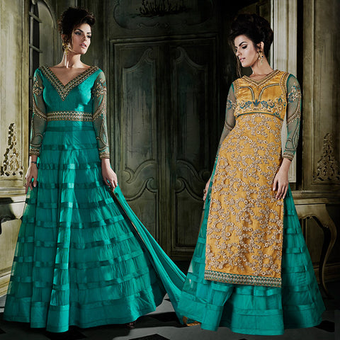 8010 KHWAAB AURA 2015 LATEST DESIGN BUY IN WHOLE SALE RATE FROM SURAT