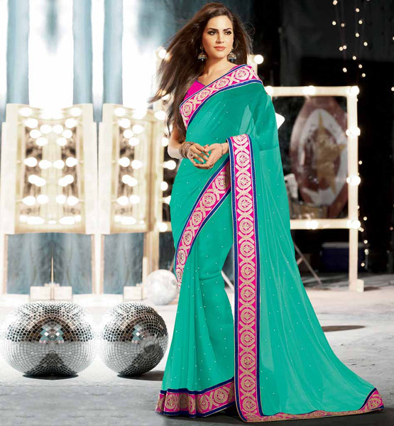 Stunning stylish bazaar Indian party wear saree - shop it now - Rs. 3725.00 - Design code - RTKUB2309