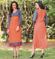 Designer Kurtis With Laces