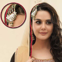 Jewellery - Heavy ethnic maang-tikka for special occasions