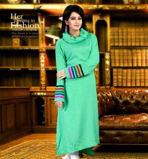 DESIGNER COTTON LONG KURTIS
