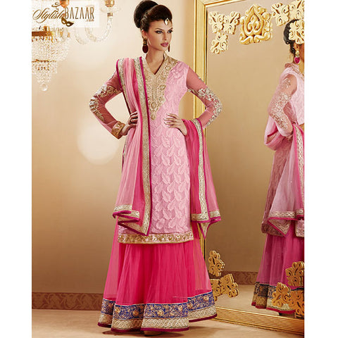 LOVELY PINK LEHENGA CHOLI