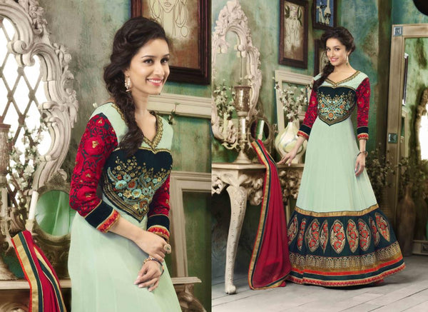 ALL NEW SHRADDHA KAPOOR DRESSES COLLECTION - COOL GOWN STYLE  SHRADDHA KAPOOR ANARKALI SUIT