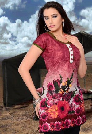 Printed Cotton Kurtis summer fashion trends