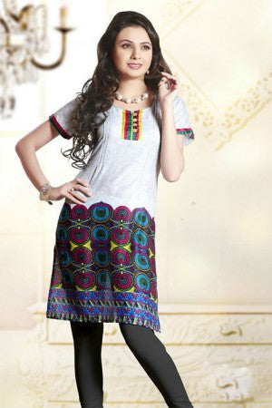 CASUAL WEAR PRINTED COTTON KURTI