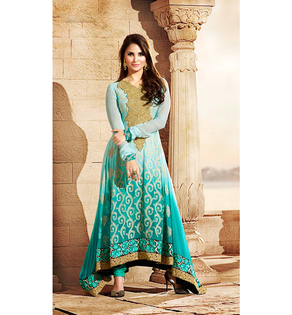 507 OMTEX DEVIKA BOLLYWOOD INSPIRED LARA DUTTA SALWAR KAMEEZ COLLECTION OTLD507