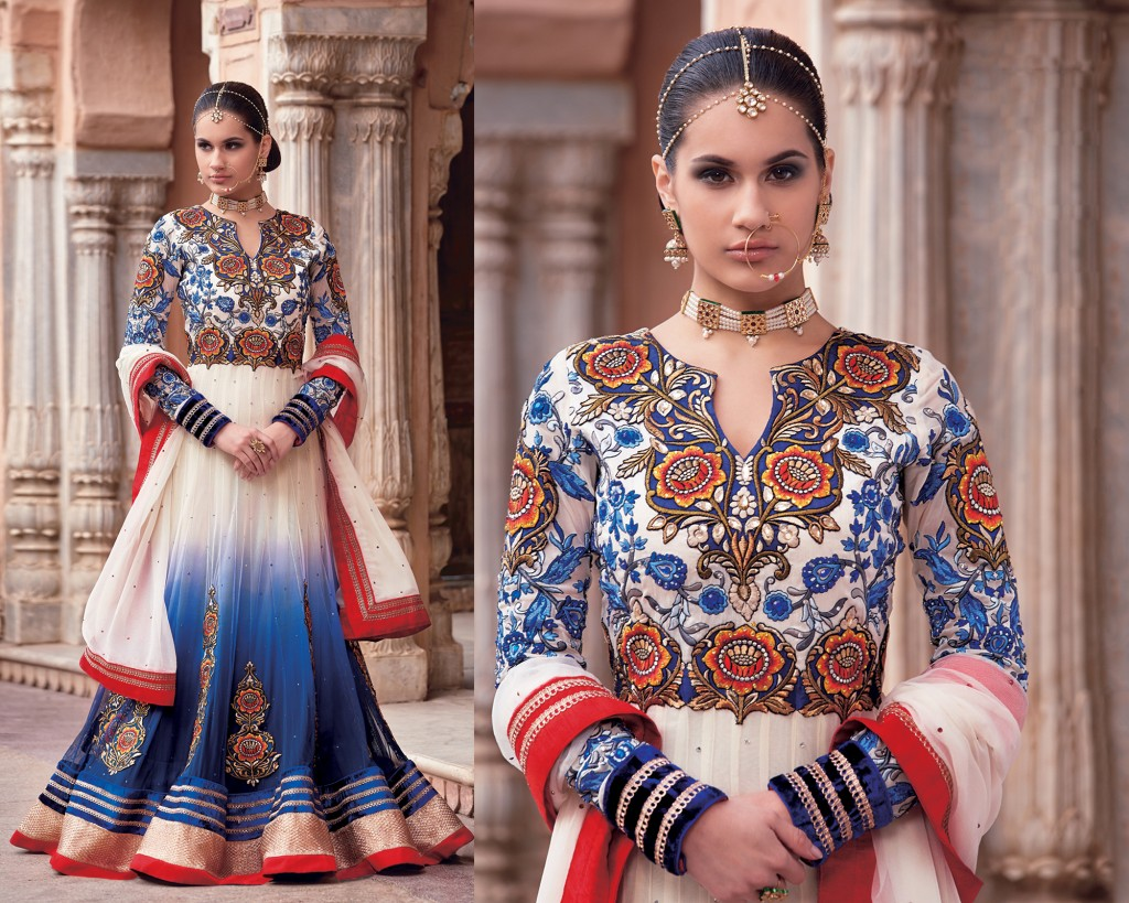 Eye-Catching Designer Wedding Wear Gown Style Anarkalis
