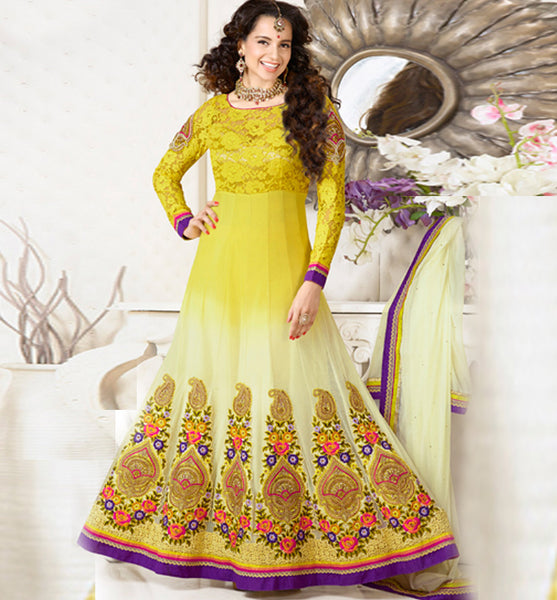 9422 VINAY CLUB BOLLYWOOD KANGANA RANAUT KALIDAR ANARKALI SALWAR KAMEEZ DRESS