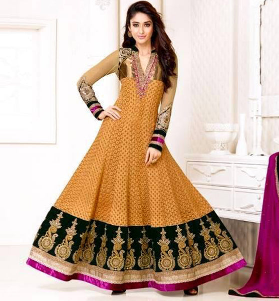 9424 VINAY CLUB BOLLYWOOD NEHA SHARMA KALIDAR ANARKALI SALWAR KAMEEZ DRESS