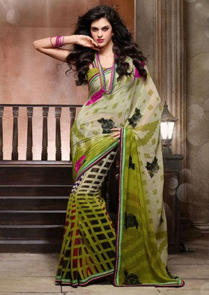 Latest Designer Georgette Saree