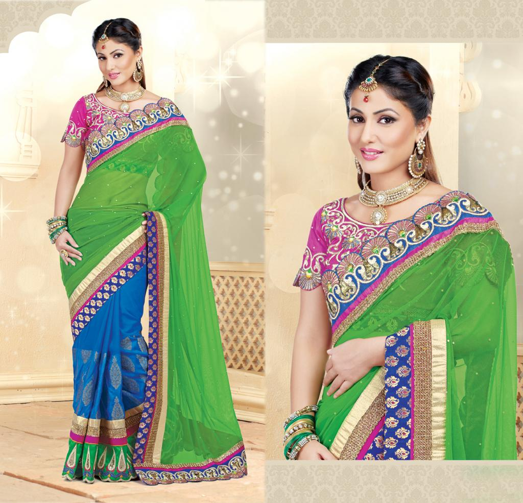 Hina Khan Sarees Akshara Saris Heena Khan Collection
