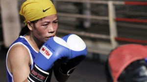 Top5 Women in India - Sports - Mary Kom - Boxing