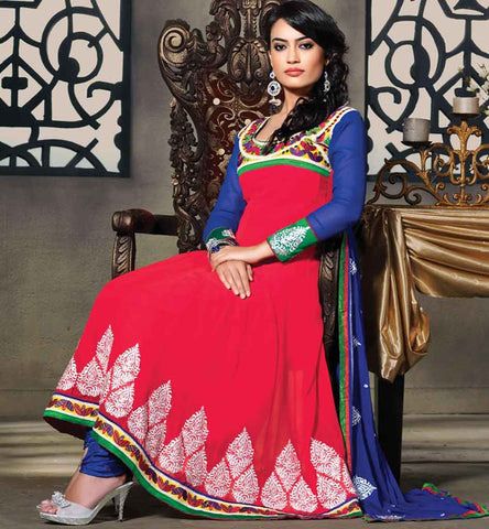 Surbhi Jyoti Zoya from Qubool hai in Pink embroidered anarkali dress, price Rs. 1800.00