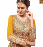 BROUGHT TO YOU BY STYLISH BAZAAR DAZZLING YELLOW SALWAAR SUIT FOR ALL OCCASIONS RMETH15
