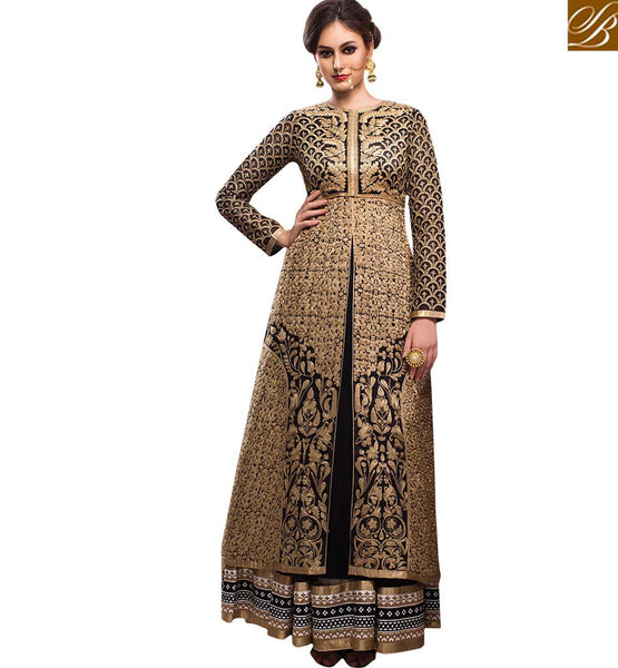 STYLISH BAZAAR BRILLIANTLY DESIGNED ETHNIC SALWAAR KAMEEZ SUIT FOR WOMEN RMETH10