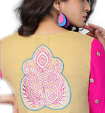 embroidery on back side of short kurti