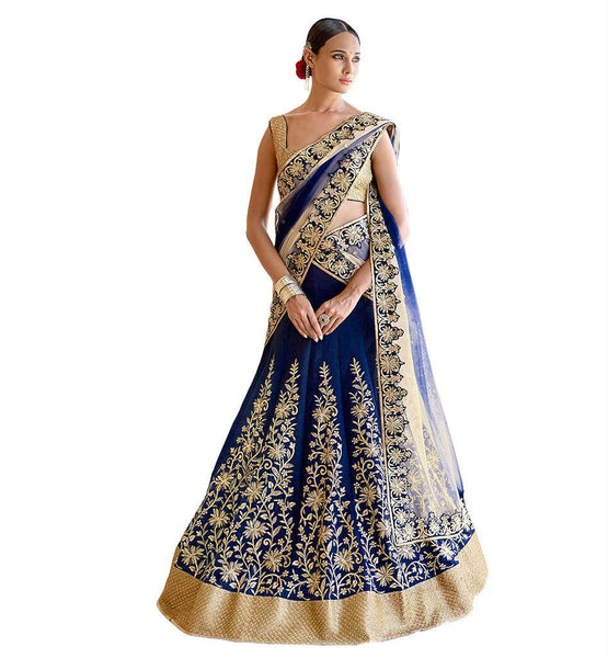 STYLISH BAZAAR CAPTIVATING INDIAN BRIDAL WEAR GHANGRA CHOLI DESIGN NKGR5048