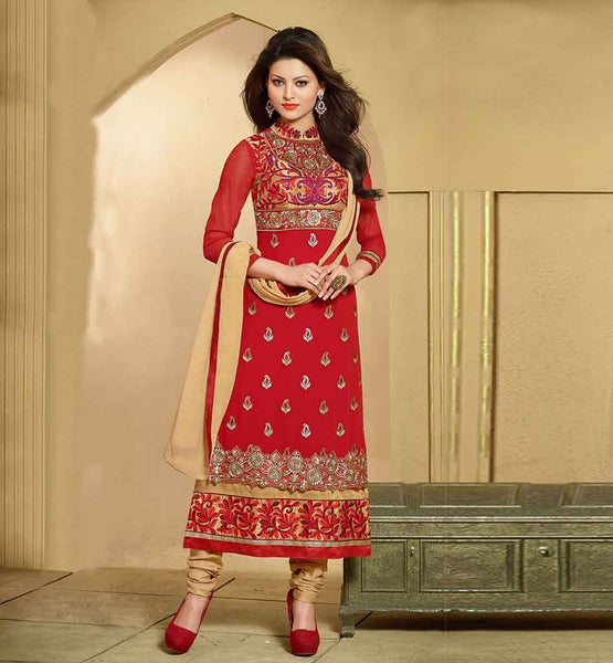 STYLISH BAZAAR DESIGNER MAROON 2015 DESIGN PARTY WEAR SALWAR SUIT