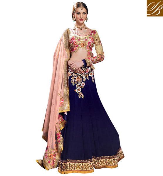 ONLINE SHOPPING FOR 3PC DESINGER WEDDING LEHENGA CHOLI