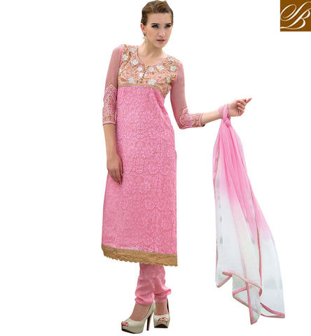 FASHIONABLE WOMEN'S FIRST CHOICE STRAIGHT STYLE SALWAR KAMEEZ