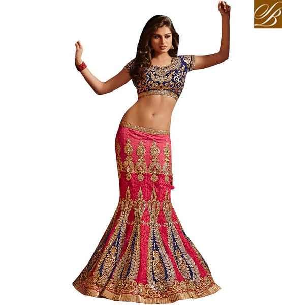 10005 LATEST GHAGRA CHOLI FOR INDIAN BRIDES EXCLUSIVE DESIGNER COLLECTION