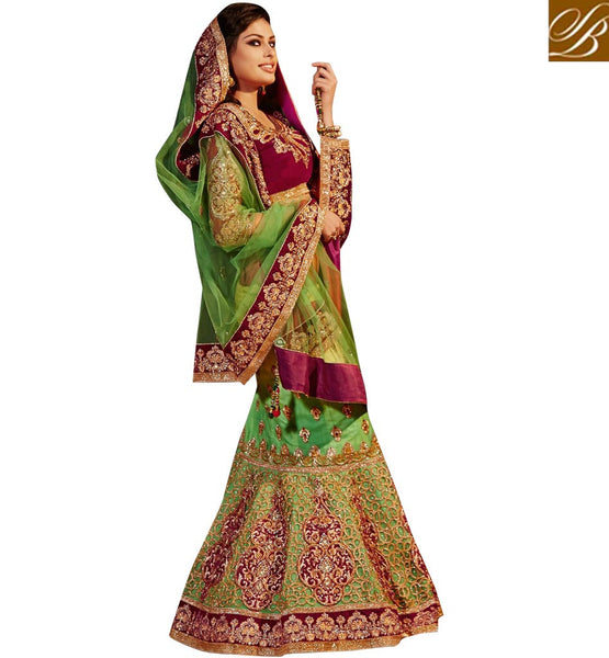 BRIDAL WEAR SHOPPING ONLINE INDIA TRADITIONAL HAND WORK GHAGRA CHOLI