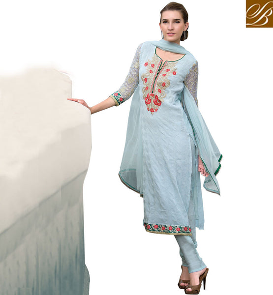 STRAIGHT LONG KURTI WITH MATCHING SALWAR OF NEW FASHION
