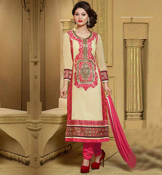 STYLISH BAZAAR CLASSY GEORGETTE PARTY WEAR KAMEEZ SALWAR DUPATTA