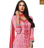 AWESOME-PINK-COTTON-TOP-WITH-MAROON-SALWAR-AND-CHIFFON-DUPATTA-STRAIGHT-CUT-PRINTED-TOP-WITH-EMBROIDERY-WORK-ON-THE-NECKLINE-AND-LACE-ON-SLEEVES-AND-HEMLINE