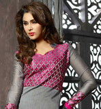 GRACEFUL GREY SALWAR KAMEEZ & DUPATTA