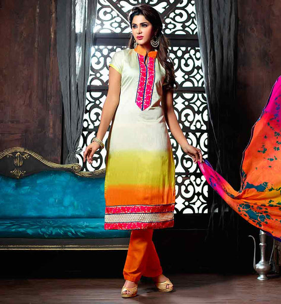 EVER STYLISH PUNJABI KAMEEZ SHALWAR SUIT DESIGNS SUPERB DUPATTA