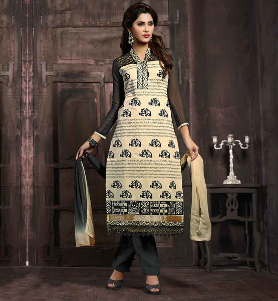 EVER STYLISH SALWAR KAMEEZ DESIGNS 2015 WITH ETHNIC PRINT WORK